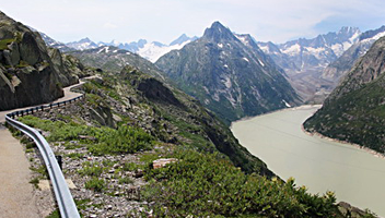 Our impressive luxury tour Grimsel/Furka
